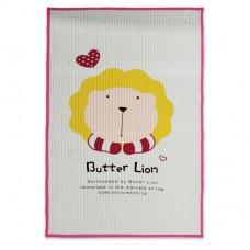 奶油獅 多用途氣墊式防溼保潔墊-粉色