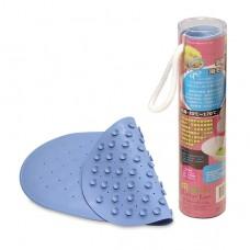 奶油獅 吸盤式浴盆止滑墊-藍色