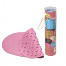 奶油獅 吸盤式浴盆止滑墊-粉色