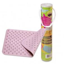 奶油獅 吸盤式浴室&浴缸止滑墊-粉色