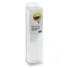 奶油獅 晶透矽膠吸盤止滑墊-白色