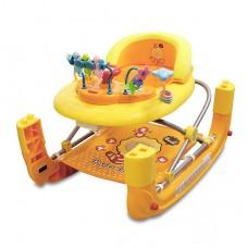 奶油獅 多功能搖馬/座椅/學步車 步行練習器