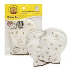 奶油獅 紗布印花護手套