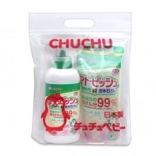 chuchubaby 植物性嬰兒洗衣精+補充包