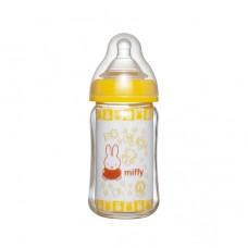 chuchubaby miffy寬口徑玻璃奶瓶-160ml