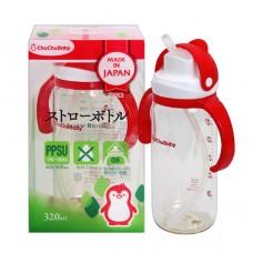 chuchubaby 企鵝造型握把吸管奶瓶 320ml