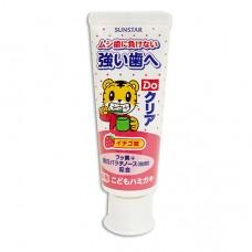 日本 巧虎幼兒牙膏-草莓