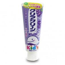 日本 幼兒牙膏70g-葡萄