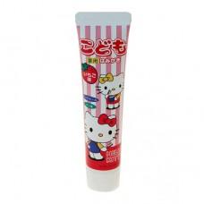 Hello Kitty 幼兒牙膏50g-草莓