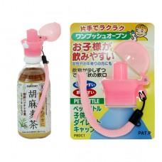 日本 攜帶式寶特瓶鴨嘴-粉色