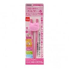 日本 Hello Kitty自動練習筷