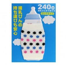 日本 奶瓶保溫防撞套-大