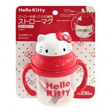 日本 Hello Kitty造型吸管練習杯