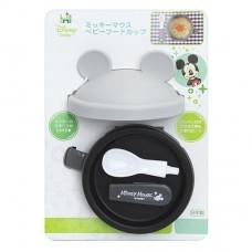日本  米奇攜帶式造型碗+匙