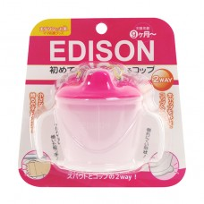 EDISON 不倒練習杯-粉色