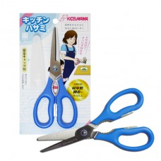 日本 攜帶式食物剪刀-藍色