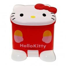 Hello Kitty立體造型垃圾筒