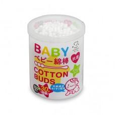 嬰兒超細紙軸兩用棉棒-180入