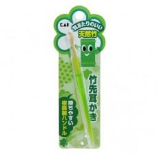 貝印 天然竹潔耳棒-綠色