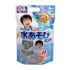 滿意寶寶 Moony 玩水褲/游泳尿褲/戲水褲-男M