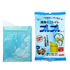 攜帶型防臭尿尿袋(3枚)