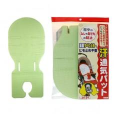 日本 排汗透氣座墊-綠