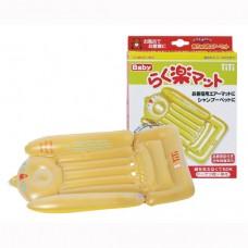 日本 充氣式兩用沐浴/換尿布墊