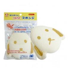 日本 敏感肌膚洗澡海棉-小狗