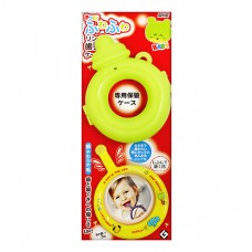 日本 寶寶環形牙刷+收納盒