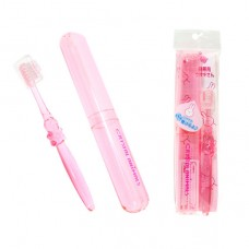 攜帶式水晶幼兒牙刷-粉色