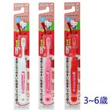 日本 Hello Kitty幼兒牙刷-3~6歲