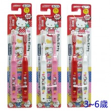 日本 Hello Kitty幼兒牙刷-3~6歲(2入)