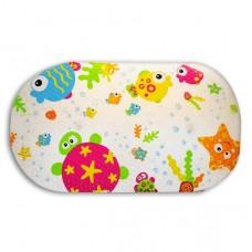 日本 卡哇依浴室吸盤式止滑墊-魚魚