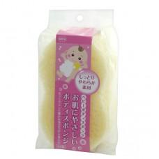 日本 敏感肌膚天然洗澡海綿