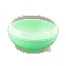 帕緹塔 矽膠強力吸盤碗-綠色