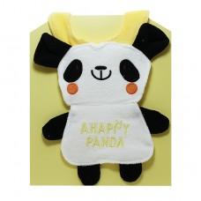 元氣寶寶 卡哇依熊貓造型圍兜