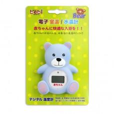 元氣寶寶 電子室溫/水溫計-小熊