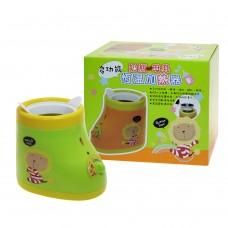 奶油獅 奶瓶 母乳 加熱器 溫奶器-綠色