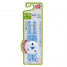 阿卡將 幼兒安全訓練牙刷-藍色