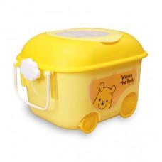 日本 維尼玩具收納車