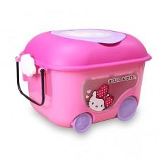 日本 Hello Kitty玩具收納車