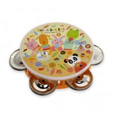 日本 幼兒歡樂鈴鼓-黃