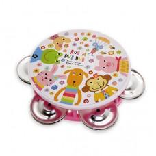 日本 幼兒歡樂鈴鼓-粉