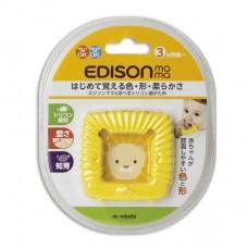 EDISON mama 方形 獅子 固齒玩具