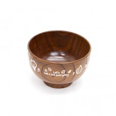 日式木製寶寶小碗-150ml