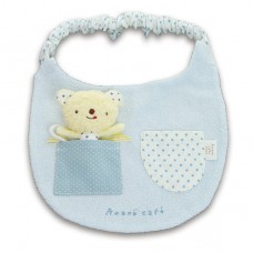 日本 米米熊玩偶布圍兜