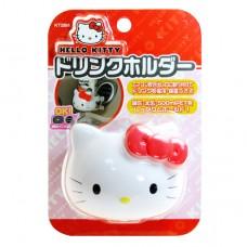 Hello Kitty 車用 奶瓶&杯架