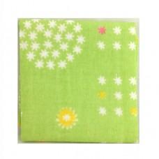 日本 雙層(紗布+毛巾)手帕-抹茶