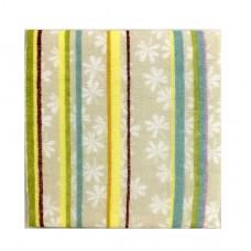日本 雙層(紗布+毛巾)手帕-大濱菊