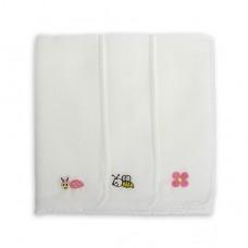 日本 紗布刺繡手帕